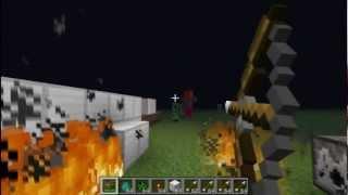 Как сделать лук и стрелы в Minecraft(, 2012-10-21T14:48:28.000Z)