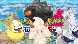 NOWE POKEMONY UJAWNIONE! - Pokemon Sword and Shield (Alcremie, Yamper, Rolycoly, Duraludon)