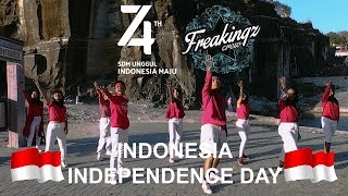 Bendera (Dance! I Love Indonesia) - VJ Daniel Mananta | FREAKINGZ CREW Choreography #RI74 #HUTRI74TH