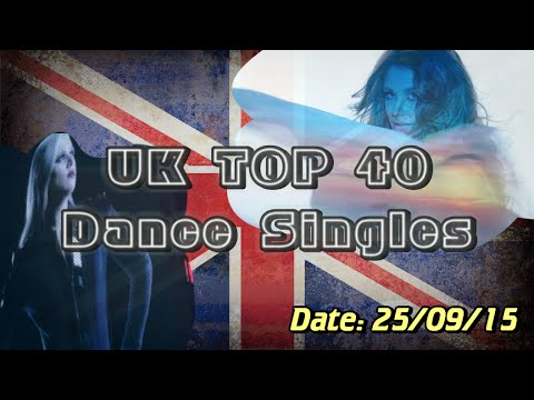 UK Dance Chart TOP 40 (25/09/2015)