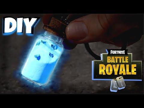 diy glowing small shield potion keychain under 10 fortnite battle royale - fortnite shield potion bottle