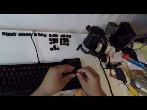 How i clean my Mechanical Keyboard !!!