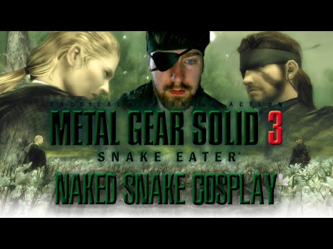 Metal Gear Solid 3 Snake Eater PS3 | Snake Cosplay