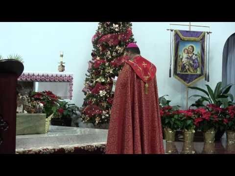 4th Sunday of Advent - Arabic Mass - Bishop Basilio Yaldo