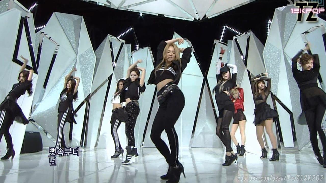 SNSD(소녀시대) - THE BOYS 더보이즈 Stage Mix~~!! 교차편집 [재업로드]