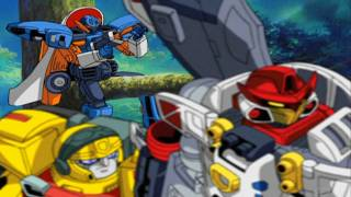 Transformers Armada - 33 - Sacrifice 1/3 HD