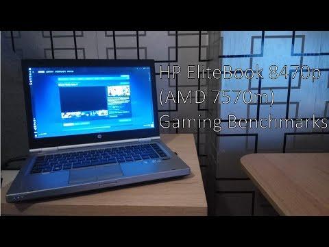 HP EliteBook 8470p (AMD 7570M) Gaming Benchmarks