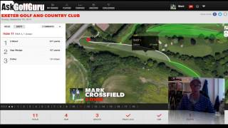 Mark Crossfield GameGolf Exeter Pro Am