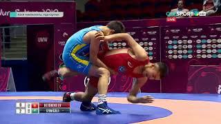 САМАТБЕК ІЗІМҒАЛИ - грек-рим күресінен кадеттер арасындағы Азия чемпионы