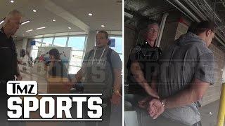 WWE's Bo Dallas Drunken Airport Arrest Video...Are Those Nunchucks? | TMZ Sports