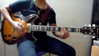 Ren & Stimpy Theme (Dog Pound Hop) - Guitar Cover/Ibanez AS103