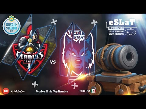 Clash Royale - | Gladius Gaming vs Star Alliance | Liga Royale Stadium | Jornada #3