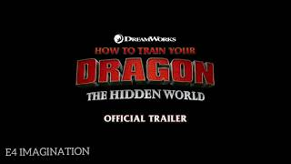 HOW TO TRAIN YOUR DRAGON 3 .MOVIE TRAILER