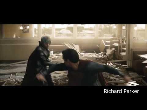 Man of Steel Clip: Superman vs Faora