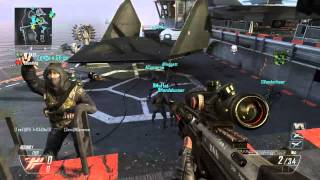 New Black Ops 2 Trickshots w/ TeeZ Climax and Zenga x Sliice Shots On Bots #1