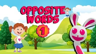 Скачать Learn Opposite Words Preschool Far Near Cartoon And Animated For Kids