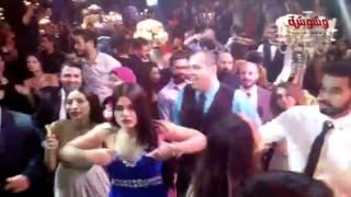 بالفيديو والصورة.. الليثى يشعل حفل زفاف بسنت أحمد صيام