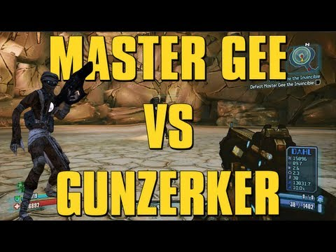 Rleeson85: BORDERLANDS 2 - ULTIMATE RAID BOSS GUNZERKER BUILD
