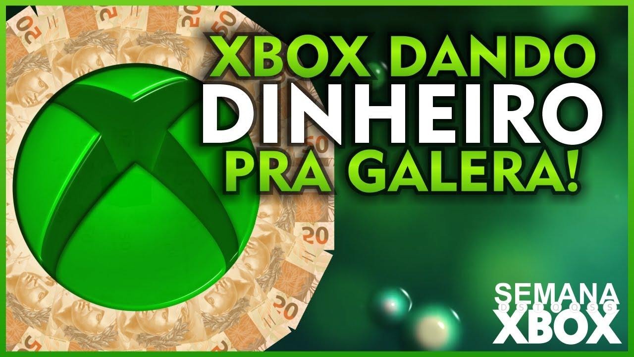 XBOX DANDO GRANA pra GALERA! ONLINE GRÁTIS AGORA e MAIS no SEMANA XBOX!
