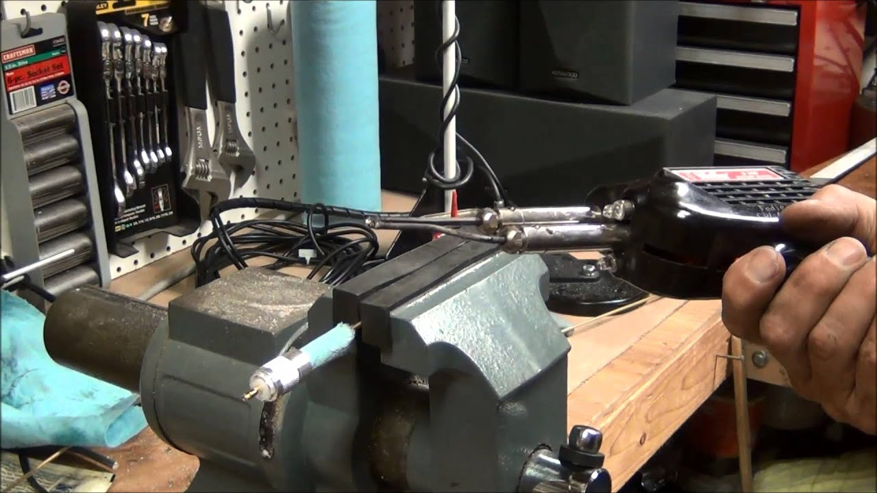 VHF - UHF Quarter Wave Antenna Part 3 by Mike Fedler