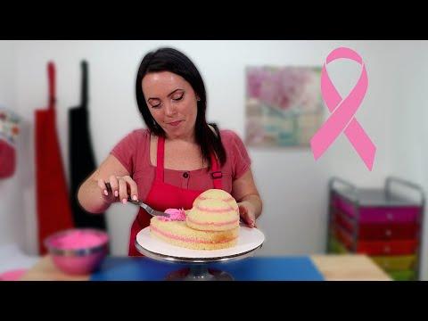 Breast Cancer Awareness Cake | Tasteful Tatas
