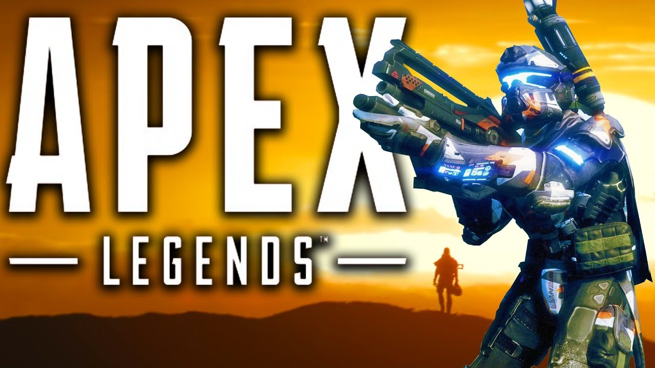My First WIN! Apex Legends Titanfall Battle Royale Gameplay