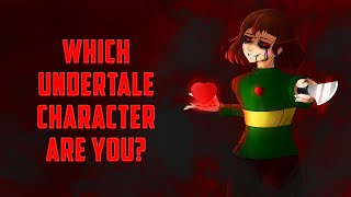 Which Undertale Character Are You?