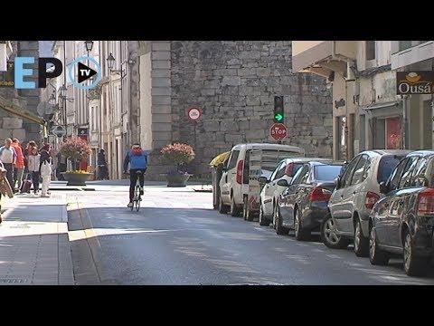 El BNG propone peatonalizar Camiño Real. ¿Qué opinan los lucenses?