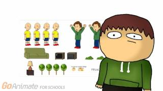 Caillou Gets Grounded Papercut Commercial!