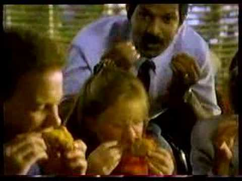 KFC extra crispy commercial from Lake Edna