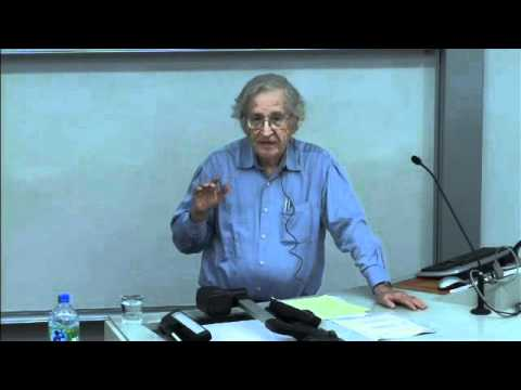 Noam Chomsky @ UCL: On the poverty of the stimulus