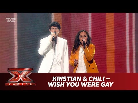 Kristian Kjærlund og Chili synger 'wish you were gay' - Billie Eilish (Live) | X Factor 2019 | TV 2