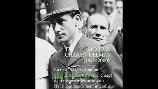 Jacques Chaban Delmas se confie à Jean-Christophe Notin