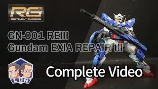 【玩具開箱】RG模型系列 GN 001 REIII Gundam EXIA REPAIR III 能天使 修補型 3 完成開箱 機動戰士鋼彈 OO