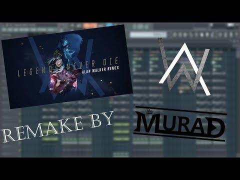 Legends Never Die [Alan Walker Remix] (Remake by MuraD)