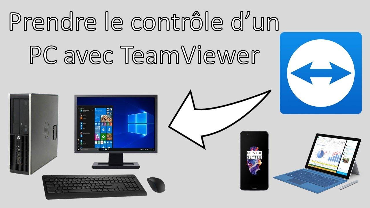 Prendre le contrôle d'un ordinateur avec TeamViewer