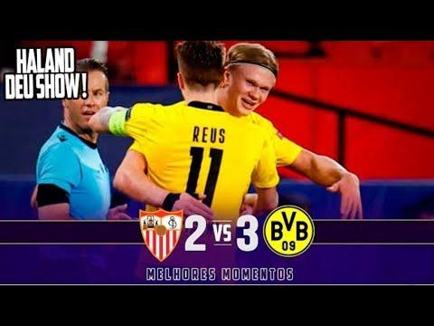 Sevilla Vs Dortmund 2-3 | Extended Highlights \u0026 Goals 2021 HD | ● MELHORES MOMENTOS HD 💥