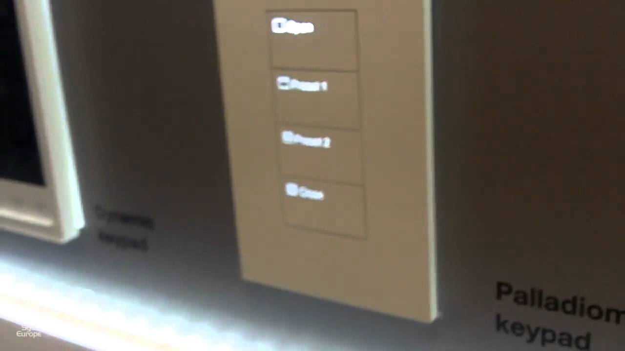ISE 2015: Lutron Launches Palladiom Keypad and Thermostat for ...