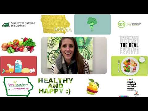 National Nutrition Month 2020 - Paige Green