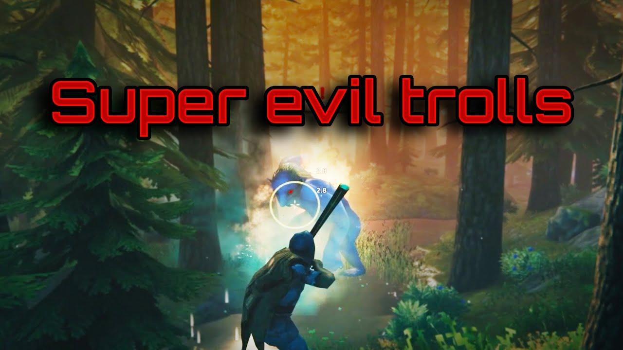 Trolls are scary - Valheim gameplay ep4