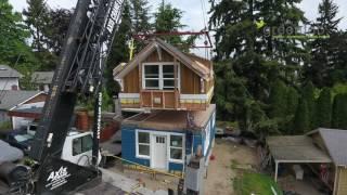 Greenfab Prefab Homes Seattle backyard cottage