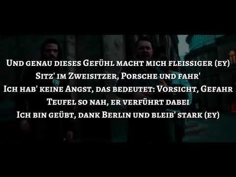 Samra & Capital Bra feat. Brudi030 & Kalazh44 – Ghetto (Official HQ Lyrics) (Text)