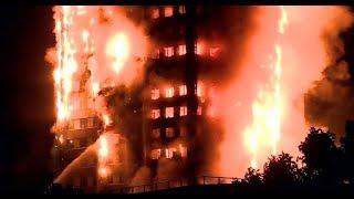 أخبار عالمية - قتلى في حريق ضخم ببرج سكني في #لندن