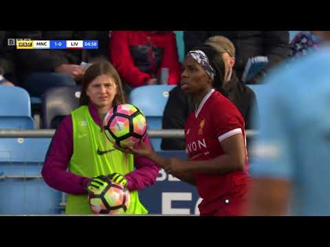 Manchester City Women v Liverpool Ladies (FA WSL 2017/18)