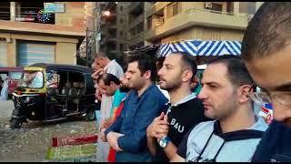 دوت مصر | إسقاط بالونات على المصلين عقب صلاة عيد الأضحى