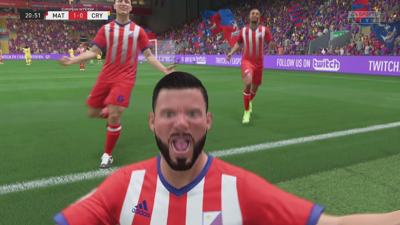 Download Oussama Tannane Golaso MAT Tetouan against Crystal Palace FIFA 22