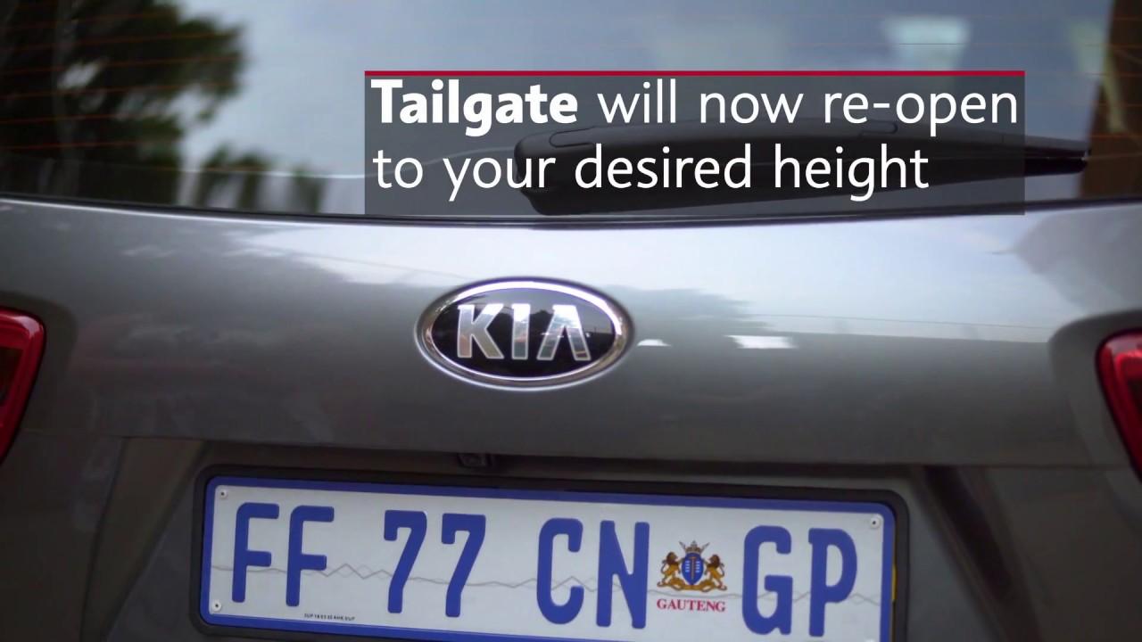 Kia Soo Smart Tailgate