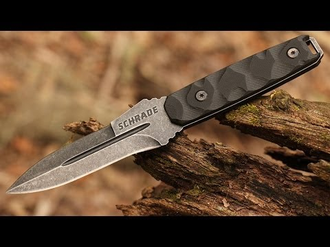 New Schrade Schf20 Tactical Survival Boot Knife Best