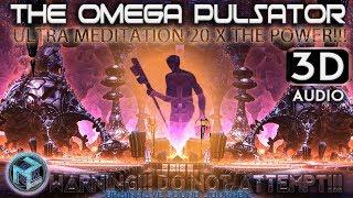 MOST POWERFUL Binaural Beats The OMEGA Pulsator IS BACK!!! ≫ 3D Meditation ?  Theta Realms 3D ASMR