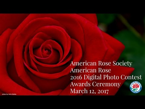 American Rose Society Digital Photo Contest Awards Ceremony
